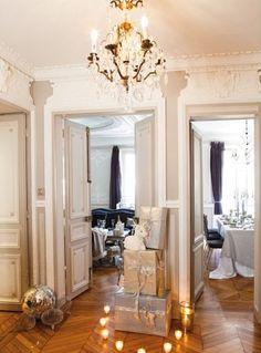 Beautiful Paris Apartment Decorated for Christmas « Interior Design Files