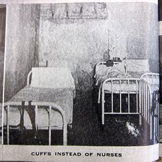 I still cannot understand what people do to each other, especially to those who are helpless or desperately need help. I often look on stunned and wonder if I was dropped off the wrong planet because this one is insane. The people caring for those labeled insane often prove they are the true insane ones--often criminally insane.  From A Pictorial Report on Mental Institutions in Pennsylvania (1946)
