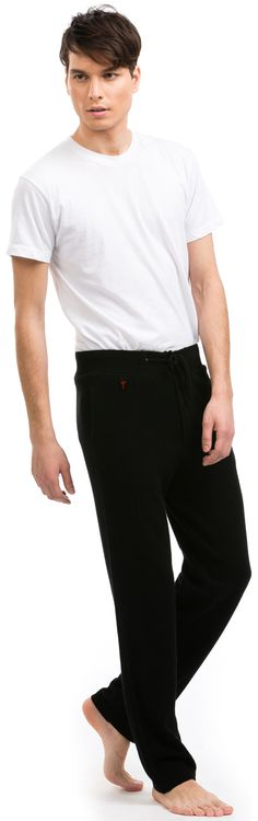 Citizen Cashmere's lounge pants are perfect for lazy days.