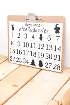 Aftelkalender December A3 - photogeniki