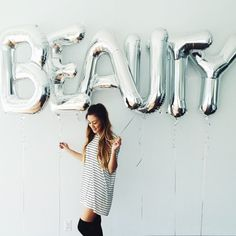 Image result for balloon letters Instagram