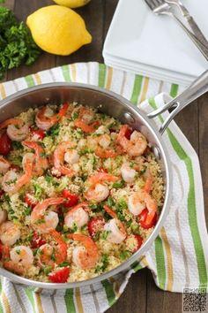11. #crevettes et Couscous - 26 #recettes de Couscous #simple et délicieux... → Food
