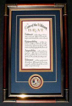 military brat | Coin of the Military Brat