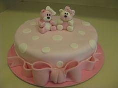 Τούρτες Γενεθλίων - Αρκουδάκια 3D! #sugarela #arkoudakia #bears #3D #pink #BirthdayCakes
