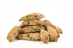 Make your own almond or chocolate chip gluten-free sugar-free biscotti Diabetic Recipes, Low Carb Recipes, Diabetic Desserts, Bar Recipes, Brownie Recipes, Baking Recipes, Free Recipes, Cookie Recipes, Healthy Recipes