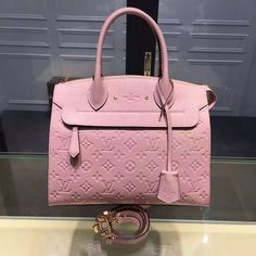 67bc85c463b Louis Vuitton Pont-Neuf MM Bag Pink 2016  designerbagsforless