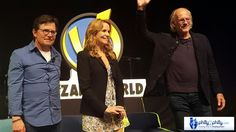 The cast of the Back to the Future Trilogy at Wizard World.