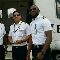 Captain Joseph Wyatt from Oklahoma, USA and First Officer Peter Bello the dead pilots of the oworonshoki helicopter crash Lagos