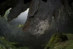 Son Doong Cave in the Quang Binh province of central Vietnam is one of the world's largest caves and is now, for the first time, accessible to tourists, thanks to the tour operator Oxalis.