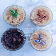 Hey everyone! I'm excited to do another giveaway of a homemade body scrub of your choice plus one for 3 of your friends. I will announce the winner when I reach 1k followers.  Follow @curedesignstyle  Tag 3 friends that would enjoy some self-care