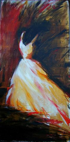Painting of Dress by Diane P. Bronstein