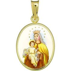 Our Lady of Carmel, Medal.