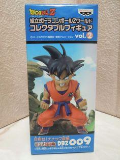 New Dragon Ball Vol.2 009 DWC World Collectable Son Gokou Kaio-ken Figure Rare