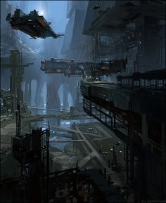 ArtStation - Arrival , James Paick