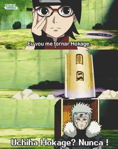Tobirama: An Uchiha Hokage? Anime Meme, Otaku Meme, Kakashi Funny, Funny Naruto Memes, Sasuke Sakura Sarada, Naruto Y Boruto, Kakashi Hatake, Sasunaru, Anime Naruto