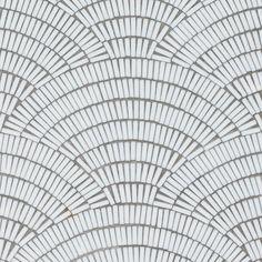 Fan Club Ice White | Artistic Tile