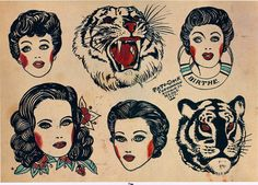 "eq-ui-nox: ""Tattoo-Jack, Copenhagen, Denmark, 1951 © The Amsterdam Tattoo Museum, Amsterdam "" Traditional Tattoo Old School, Traditional Flash, Traditional Tattoo Flash, American Traditional, Traditional Tattoo Inspiration, Sailor Jerry Tattoo Flash, Tattoo Museum, Old Tattoos, Vintage Tattoos"