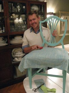 How to refinish chairs