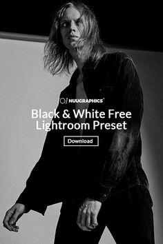 Free b&w Lightroom preset. #photography #lightroom #freepreset #preset #presets #postprocessing #photoshop #edit #b&w #blackwhite