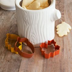 Harvest Cookie Cutters, Set of 3 | Sur La Table