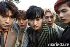 b1a4 Marie Claire, b1a4 Marie Claire march 2017, b1a4 photoshoot 2017, b1a4 2017 comeback, b1a4 jinyoung photoshoot, jinyoung drama kpop
