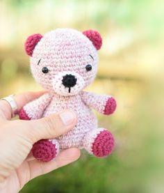 Alpaca teddy bear - Free amigurumi pattern
