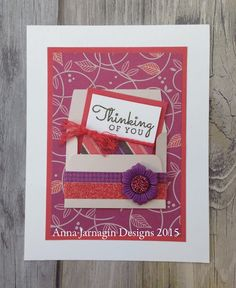 annieworks: Thinking of You Card