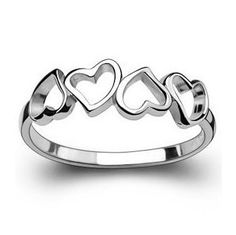 cool heart 925 silver ring,shop cheap fashion jewelry at www.favorwe.com