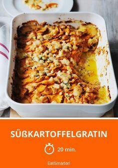 Süßkartoffelgratin - smarter - Zeit: 20 Min. | eatsmarter.de