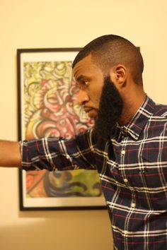 I wish more black men would wear perfectly manicured beards. My Mom was a big…