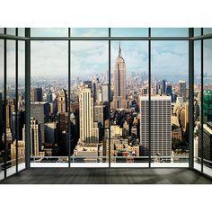 New York Skyline Fotobehang 232 x 315 cm fotobehang kopen? Bestel bij fonQ.nl