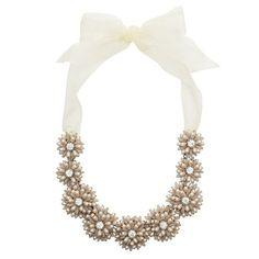 Kate Spade Gerbera Garden statement necklace