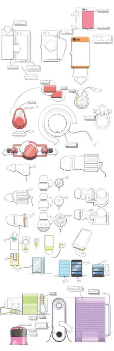 DeciBel: Research by Jeremy Dennis, via Behance