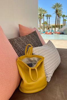 A fabulous poolside tote! This pebbled Italian leather bag has a spacious main compartment with a zipper closure and a turn lock to keep unwanted hands out of your stuff. Great for traveling, commuting to work or just everyday. Lots of colors. #leatherpursesandwallets #leatherbackpackpurse #summerstyle #summerbags #tophandlebag #convertiblebackpack #backpackpurse #travelbackpack #travelbagsforwomen #tote #workbag #pinkbag #onthego Italian Leather Handbags, Leather Purses, Leather Bag, Leather Backpack Purse, Tote Backpack, Tote Bag, Travel Bags For Women, How To Make Handbags, Travel Tote