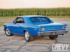 1966 Chevy Chevelle - Rick finally got his big boy's toy ....
