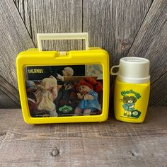 Cabbage Dolls, Michael Christmas, Plastic Lunch Boxes, 1980s Toys, Floral Tablecloth, Polly Pocket, Cabbage Patch, Patches, Barbie Stuff