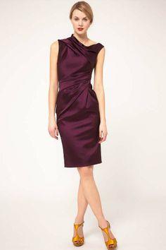 Helical collar dress