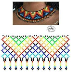 Beaded Jewelry, Jewellery, Beaded Collar, Hama Beads, Bead Weaving, Beadwork, Collars, Jewelry Making, Fantasy