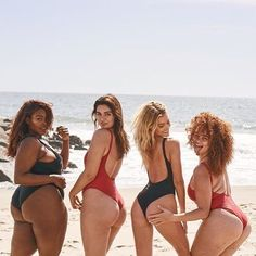 The women want to showcase beauty in all shapes and sizes.