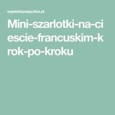 Mini-szarlotki-na-ciescie-francuskim-krok-po-kroku Food And Drink, Cakes