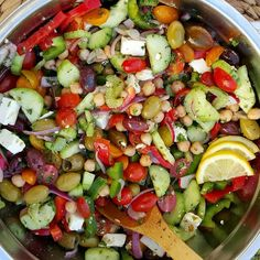 Favorite Things Chopped Salad + Quick Dressing for Clean Eating! - Clean Food Crush