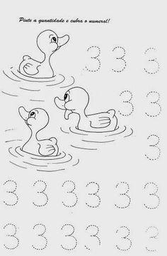 Ensinando com Carinho: Atividades com números de 0 a 9