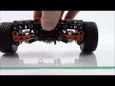 #suspension - Lego Technic Independent Rear Suspension - 13 Studs Wide - YouTube