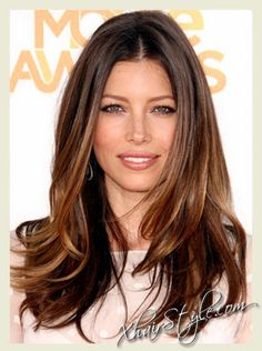 Ombre Dark Hair @Nina Coolidge