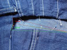 Engordou então aprenda a alargar suas calças Sewing Hacks, Sewing Tutorials, Summer Grunge, Cycling Outfit, Linen Dresses, Sewing Techniques, Refashion, Diy Clothes, Diy Fashion