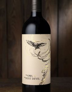 CF Napa Brand Design - The Owl & The Dust Devil - CF Napa