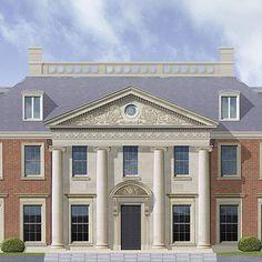 ADAM Architecture - Classical Villa, London