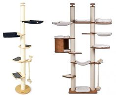 What cat wouldnt love this? Profeline Cat Climbing Towers & Scratchers from Germany Cat Climbing Tree, Large Cat Tree, Cat Entertainment, Cat Climber, Cat Gym, Cat House Diy, Dog Furniture, Cat Enclosure, Cat Scratcher