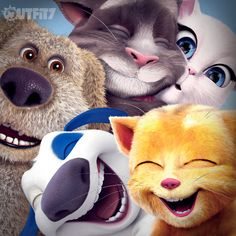 Selfie time!  xo, Talking Angela #talkingangela #mytalkingangela #LittleKitties #talkingfriends