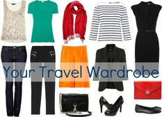 What to Pack for Vacation - your travel wardrobe for a week of sightseeing by Wardrobe Oxygen